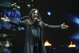 Ozzy Osborne in the end Tour