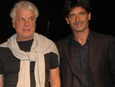 "Michele Placido in ""Serata romantica"" con Davide Cavuti"
