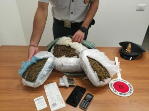 Pescara, sequestrati 5 kg di Marijuana