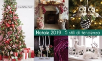 Design. Natale 2019: 5 stili di tendenza