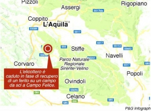 campo felice zona dell'incidente