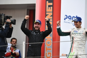 Loris Spinelli a Monza per l'International GT Open